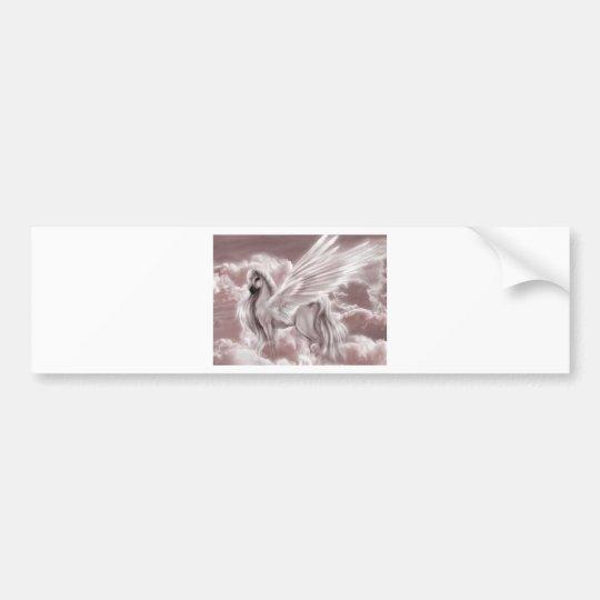 pegasus in the sky.jpg bumper sticker