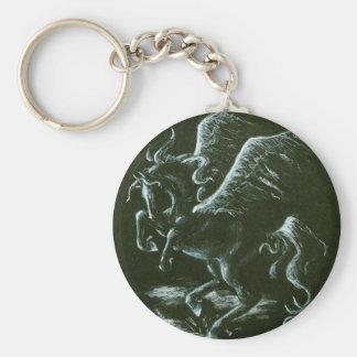 Pegasus Keychain