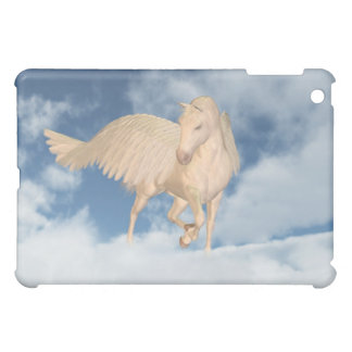 Pegasus Looking Down Through Clouds iPad Mini Covers