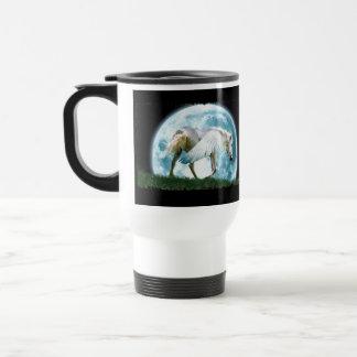 Pegasus & Moon Fantasy Art Drinking Mug