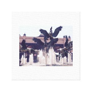 Pegasus of the Bahamas Canvas Print