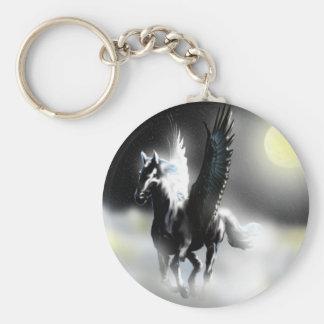 Pegasus of the Moon Keychain