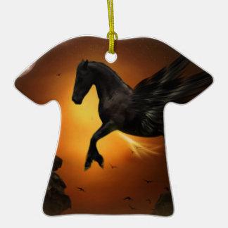 Pegasus Ceramic T-Shirt Decoration