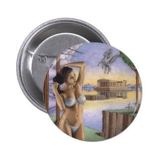 Pegasus Parthenon Round Buttons