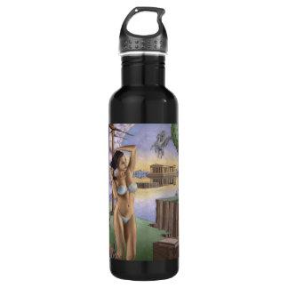 Pegasus Parthenon Water Bottle (24 oz), Black 24oz Water Bottle