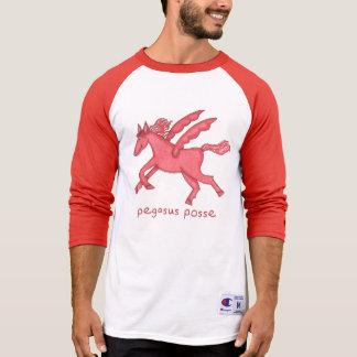 Pegasus Posse Men's 3/4 Sleeve Raglan T-shirt