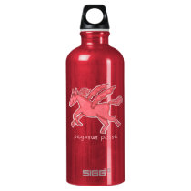 Pegasus Posse SIGG Water Bottle (Red)