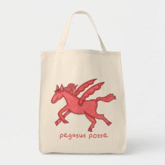 Pegasus Posse Tote Bag