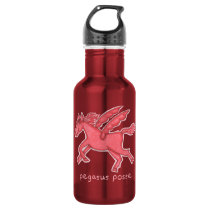 Pegasus Posse Water Bottle (Red)