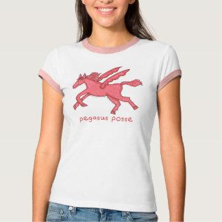 Pegasus Posse Women's Ringer T-Shirt