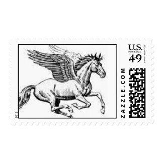 Pegasus Postage Stamps