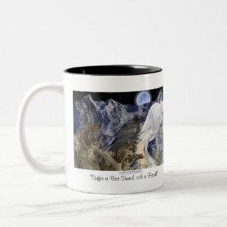 PEGASUS & RAVEN FRIEND Fantasy Art Mug