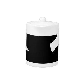 Pegasus Silhouette Teapot