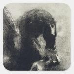 Pegasus Square Stickers