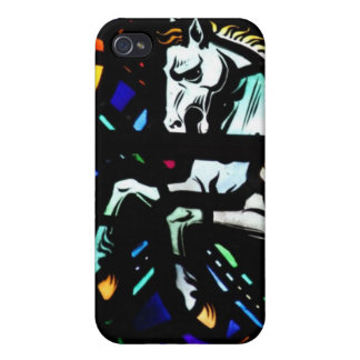 Pegasus stained glass speck case