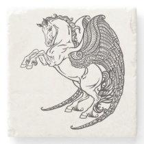 pegasus stone coaster