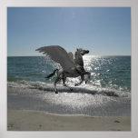Pegasus Taking Flight Poster