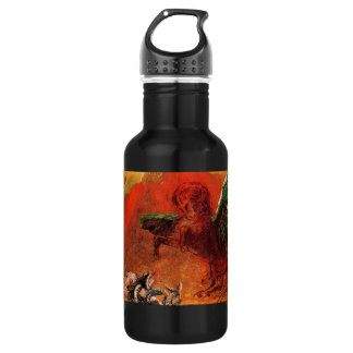 """""""Pegasus & the Hydra"""" by Odilon Redon Stainless Steel Water Bottle"""