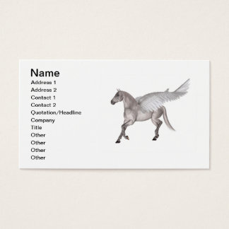 Pegasus the Winged Horse Business Card