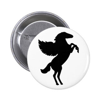 Pegasus the Winged Horse Pinback Buttons