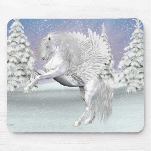 Pegasus .. The winged horse Mouse Pad