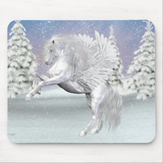 Pegasus .. The winged horse Mouse Pads