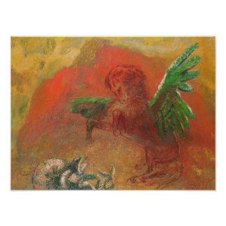 Pegasus Triumphant Poster