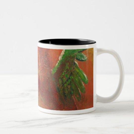 Pegasus Triumphant Two-Tone Coffee Mug