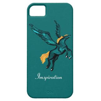 Pegasus (Turquoise) iPhone SE/5/5s Case