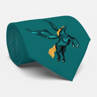 Pegasus (Turquoise) Neck Tie