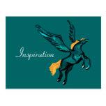 Pegasus (Turquoise) Postcards