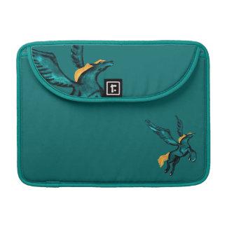 Pegasus (Turquoise) Sleeve For MacBooks
