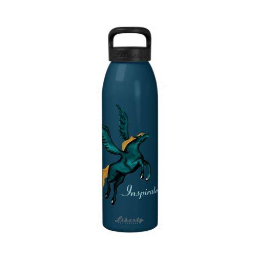 Pegasus (Turquoise) Drinking Bottles