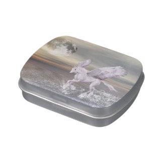 Pegasus-Unicorn Hybrid Candy Tin