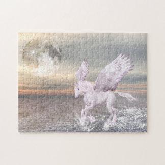 Pegasus-Unicorn Hybrid Puzzle