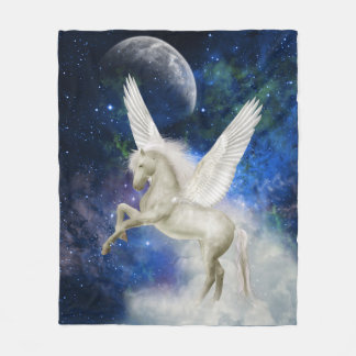 Pegasus Universe Fleece Blanket