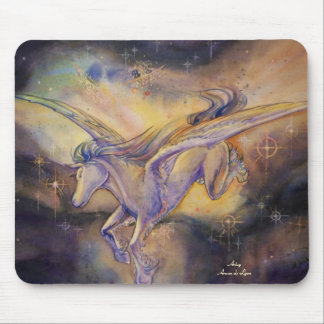 Pegasus With Nebula Mouse Pad