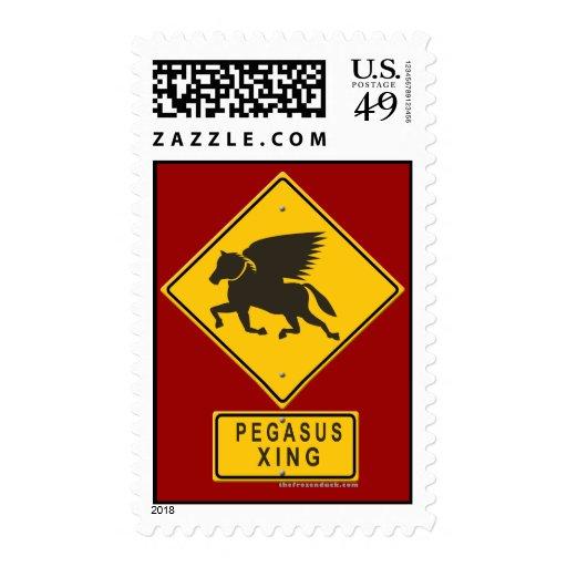 Pegasus XING Stamp
