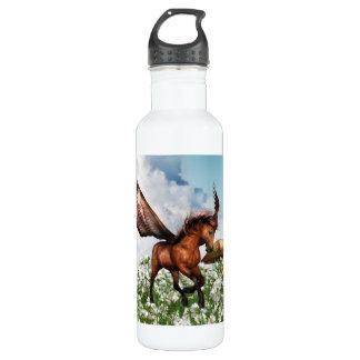 Pegasys in a Field 24oz Water Bottle