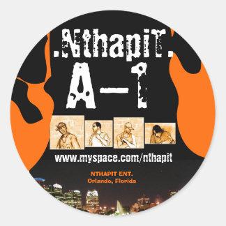 Pegatina 001 de NthapiT A-1