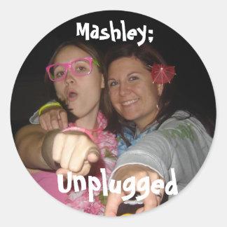 Pegatina 01 de Mashley