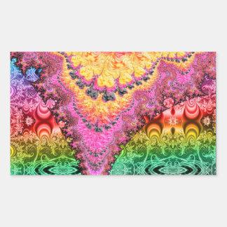 Pegatina 030314 del fractal de BBQSHOES