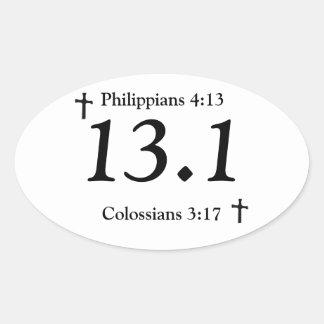 Pegatina 13,1 del cristiano