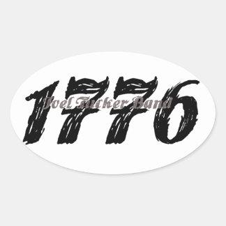 Pegatina 1776 de la banda de Joel Tucker