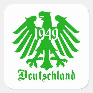 Pegatina 1949 del símbolo de Deutschland Alemania