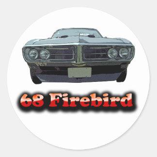 Pegatina 1968 de Firebird