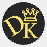 Pegatina 1 de DK