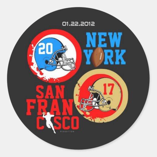 Pegatina 1 de la cuenta del fútbol 2012 de NFC