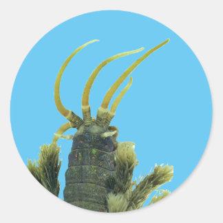 Pegatina 1 del gusano