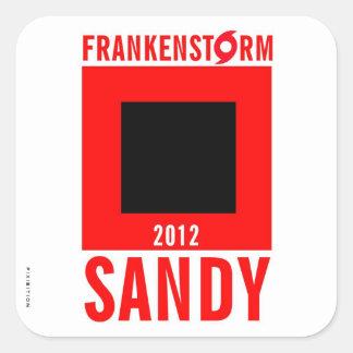 Pegatina 1 del huracán de Frankenstorm Sandy